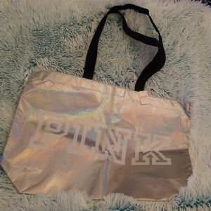 Beautiful Pink Holographic tote